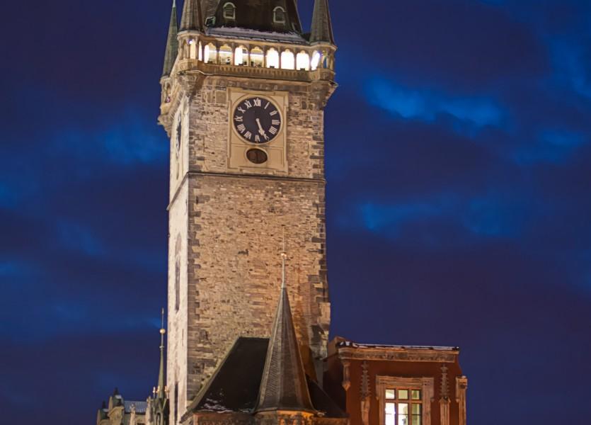 Pared Este Torre reloj astronomico