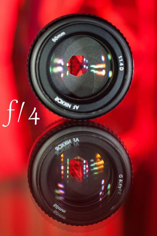 Diafragma objetivo Nikon