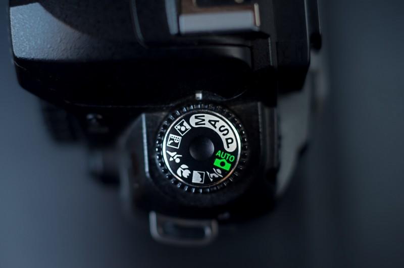 Dial modos cámara Nikon D70s
